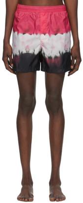Valentino Multicolor Tie-Dye Swim Shorts