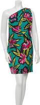 Derek Lam Silk One-Shoulder Dress