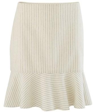 Vanessa Bruno Cotton Striped Natty mini-skirt