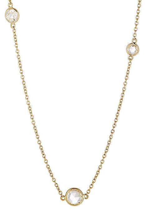 Finn Women's Three-Stone Rose-Cut Necklace