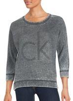 CK Calvin Klein Roundneck Logo Pullover
