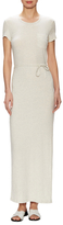 James Perse Cotton Pocket Tee Maxi Dress