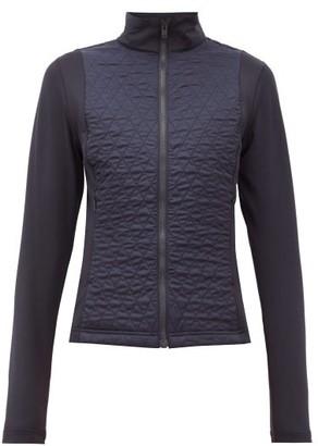 Fusalp Hermine Diamond-quilted Mid-layer Jacket - Navy