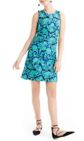 J.Crew Women's Vineyard Jacquard A-Line Dress
