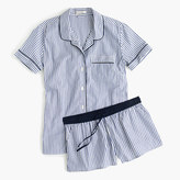 J.Crew Button-up short pajama set