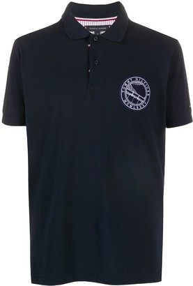 Tommy Hilfiger Logo Crest Polo Shirt