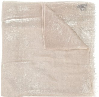 Avant Toi Shimmer Cashmere Scarf