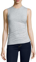 Theory Rimaeya Tie-Side Tank Top