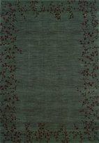 "Oriental Weavers Allure 3'10"" x 5'5"" Machine Woven Rug in Blue"