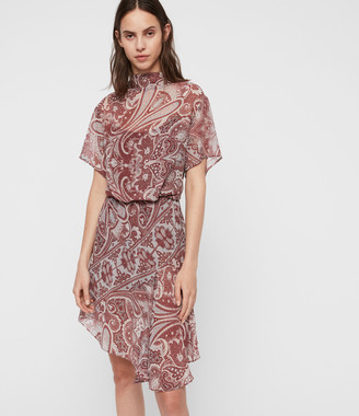 AllSaints Giulia Scarf Dress