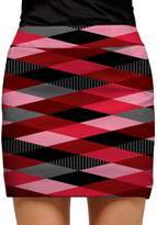 Loudmouth Golf Women's Loudmouth Red Printed Golf Skort