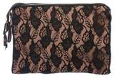 Mayle Floral Lace Zip Pouch