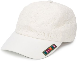 Mr & Mrs Italy Embroidered Lace Baseball Cap