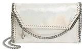 Stella McCartney Falabella Shaggy Deer Faux Leather Crossbody Bag - White