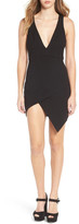 NBD Dries Asymmetrical Body-Con Dress