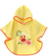 Chicco Girls' Yellow Beach Bathrobe