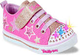 Skechers Girls Twinkle Toes Sparkle Glitz Twinklerella Toddler Light-Up Sneaker