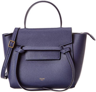 Celine Nano Belt Bag Leather Tote