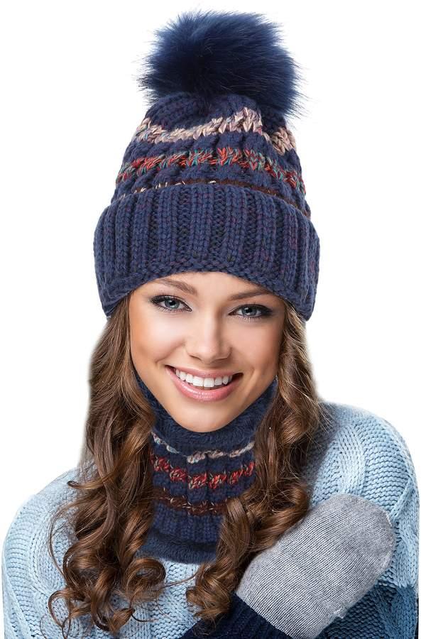 8fd73c0ee EGOGO Beanie Hat Scarf Set Snow Knitting Skull Hat Ski Fleece Lining Skull  Beany Cap for Women E601-8