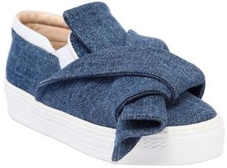 N°21 Denim Slip-on Sneakers
