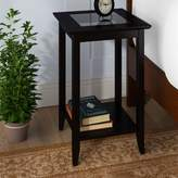 Andover Mills Moana End Table Color: Black