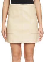 1 STATE Solid A-Line Skirt