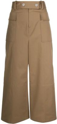 Jason Wu High-Waisted Wide-Leg Trousers