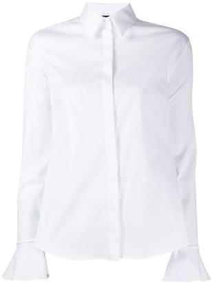 Fay frill cuff shirt