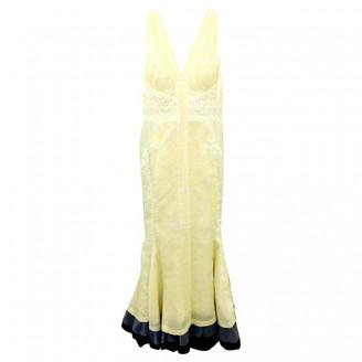 J. Mendel J.mendel Yellow Silk Dresses