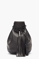 Wendy Nichol Black gold-Studded Bullet Bag