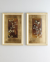 "John-Richard Collection Gold Leaf Branches I"" Print"