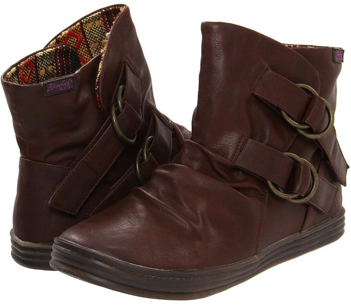 Blowfish Runner (Dark Brown Austin Pu) - Footwear