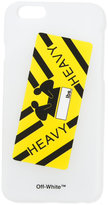 Off-White heavy iphone 6 case - unisex - Plastic - One Size