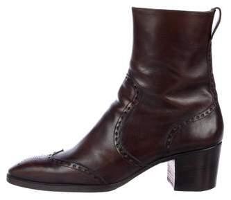 Saint Laurent Jonny 65 Ankle Boots