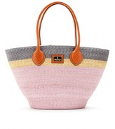 Emilio Pucci Beach RAFFIA BASKET SHOPPER