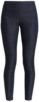 St. John Denim Pull-On Pants