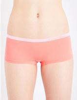Calvin Klein Pure Seamless stretch-jersey boyshort briefs