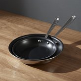 Crate & Barrel All-Clad ® Stainless Non-Stick Fry Pans