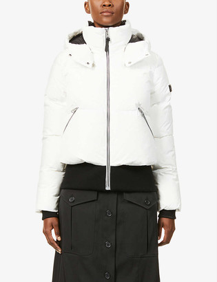 Mackage Aubrie hooded shell-down jacket