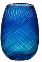 Kosta Boda Red Rim Small Vase