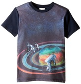 Paul Smith Short Sleeve All Over Planet Tee Boy's T Shirt
