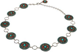 Nocona Belt Co. Women's Multi-Color Concho Link Belt