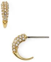 Rebecca Minkoff Pavé Hoop Earrings