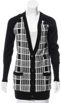 L'Agence Silk-Cashmere Blend Cardigan