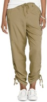 Lauren Ralph Lauren Ruched Drawstring Cuff Pants