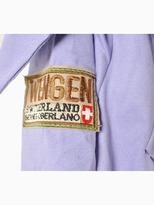 Choies Purple Shearling Padded Coat