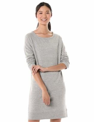 Goodthreads Modal Fleece Popover Sweatshirt Dress Medium Grey NEP Heather