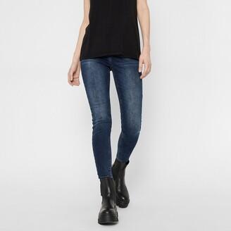 Pieces Skinny Ankle Grazer Jeans