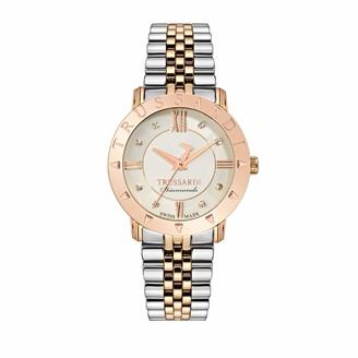 Trussardi Womens Analogue Quartz Watch with Stainless Steel Strap R2453108507
