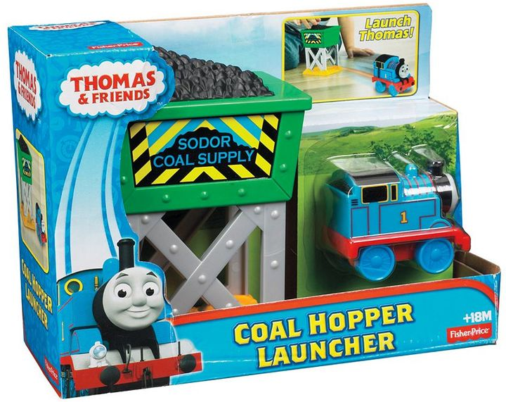 Fisher-Price Thomas & Friends Thomas the Tank Engine Coal Hopper Launcher by